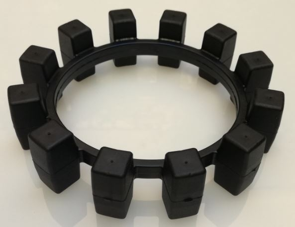 KTR ELASTOMER RING NBR 78 SHORE FOR POLY-NORM 38 950381000201