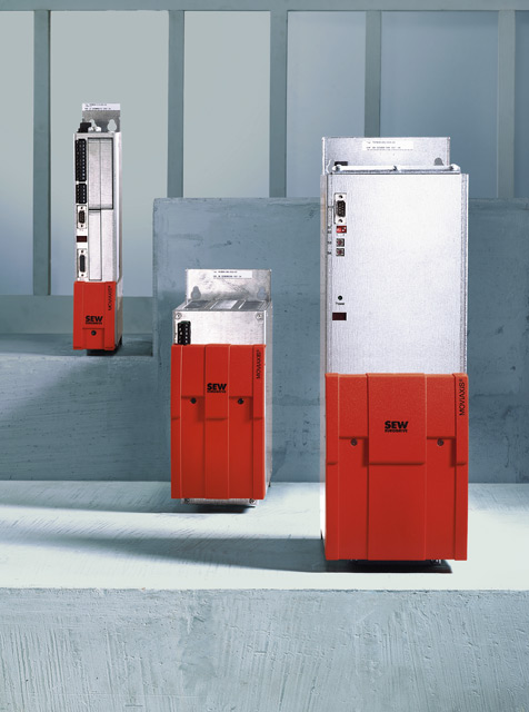 Frequency inverters for servomotors